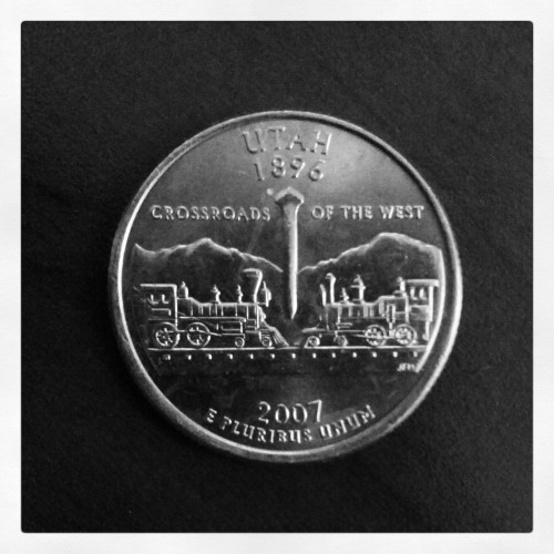 Utah quarter with a 2007 date